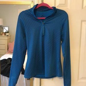 Dri fit Nike Pro training quarter zip pullover